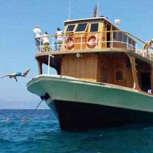 Bootsausflug, Gruppe, Mallorca